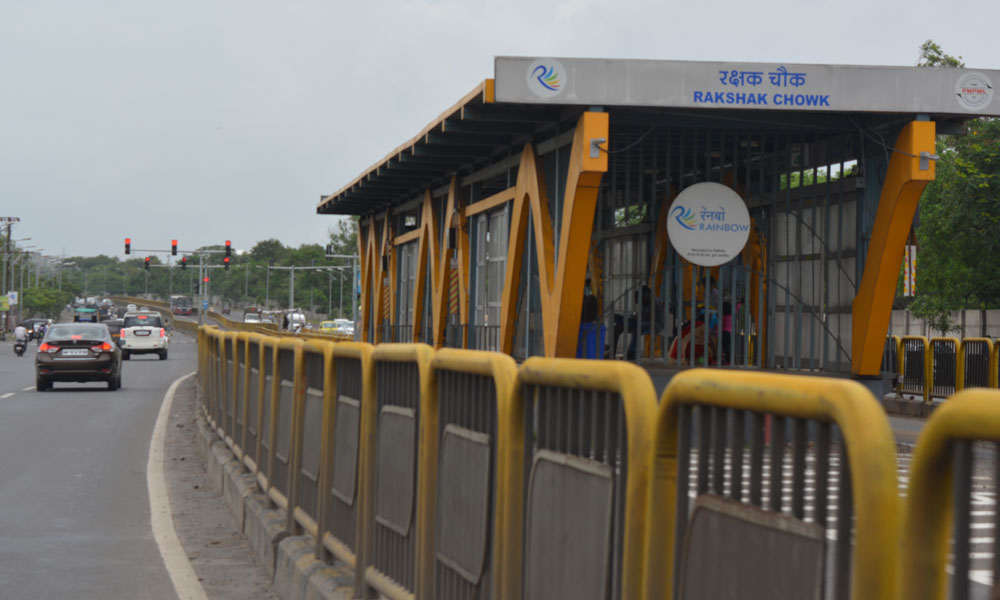 BRTS Road from Sandghvi to Kiwale