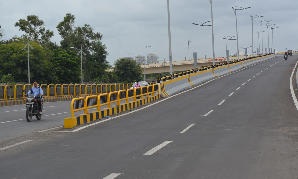 Flyover leading to Kiwale