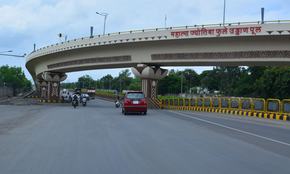 Flyover constructed by PCMC
